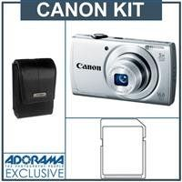 Canon PowerShot A2500 Digital Camera, Silver - Bundle - with 8GB SDHC Memory Card, Camera Case - http://coolreviews.buyingmanual.com/canon-powershot-a2500-digital-camera-silver-bundle-with-8gb-sdhc-memory-card-camera-case.html