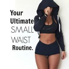 Relaxed Hair Health: Fit Friday | Your ultimate small waist routine.                                                                                                                                                                                 More