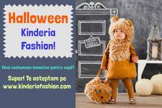 Octombrie este luna Halloween-ului! Chiar daca nu este o sarbatoare romaneasca, tot este un prilej bun de sarbatoare! Copilasii vor adora sa se costumeze in animalute, personaje de desene animate, super-eroi sau chiar personaje inspaimantatoare.  #kinderiafashion #halloween #costumase #tematice #copii Daca ai un magazin online cu hainute tematice, pentru copii, te asteptam pe site-ul nostru www.kinderiafashion.com.