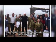 "The project ""Great in Uniform's"" purpose is to integrate young people with disabilities in the IDF. This beautiful video will bring you to tears!"