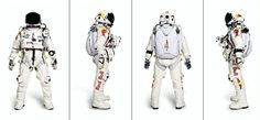Red Bull Stratos was a space diving project involving Austrian skydiver Felix Baumgartner Red Bull Media House, Felix Baumgartner, Astronaut Suit, Iron Man 2008, First World, Cool Designs, How To Wear, Clothes, Space Suits