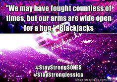 Blackjacks are with you, Sones. Sooyoung, Yoona, Cnblue, Jyj, Tvxq, Btob, Yuri, Tiffany, Akdong Musician