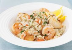 How to make Seafood Risotto. Step by step instructions to make Seafood Risotto . Quick Lunch Recipes, Sunday Dinner Recipes, Fish Recipes, Seafood Recipes, Cooking Recipes, Healthy Recipes, Seafood Risotto, Seafood Dinner, Rissoto Thermomix