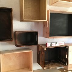#obstkistenregal Flat Screen, The Unit, Entertaining, Furniture, Home Decor, Stoneware, Blood Plasma, Decoration Home, Room Decor