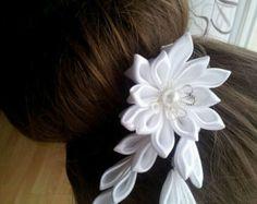 Venda de la muchacha kanzashi kanzashi flores por Schrejderiha