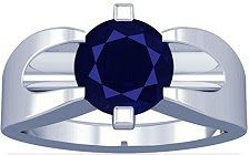 Platinum Round Cut Blue Sapphire Mens Ring Blue Sapphire, Rings For Men, Jewelry, Men Rings, Jewlery, Jewerly, Schmuck, Jewels, Jewelery