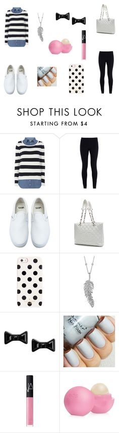 """""""outfit 6"""" by katieparsons-2 on Polyvore featuring Dorothy Perkins, NIKE, Vans, Chanel, Kate Spade, Penny Preville, Marc by Marc Jacobs, NARS Cosmetics, Eos and women's clothing"""