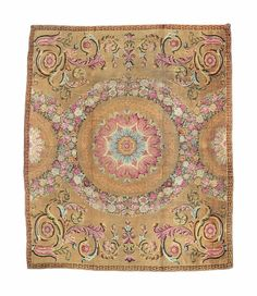 A George III axminster carpet, England, early 19th century, 16ft.6in. x 19ft.10in. (500cm. x 601cm.)