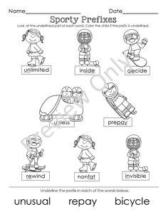 Winter Olympics Language Arts morning work (nouns, verb