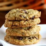 Big Batch Multigrain Cookies with Chocolate Chips and Dried Cranberries