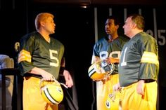 """Who says football fans can't be theatre fans?  #SportsandTheatre    from the play, """"Lombardi""""  from the article: """"When Sports and Theatre Mix"""" by Lauren Smart"""