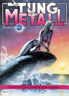 Cover for Tung metall (Epix, 1986 series) #10/1987
