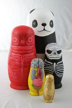 Panda Nesting Dolls