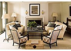 Golden Isle Chair & Ottoman, Gold | Dream Room | One Kings Lane