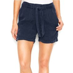 LUCKY BRAND 2015 Slouch Navy Blue Shorts Medium So cute. Wear with a white tank or Cami and a bold necklace. Lucky Brand Shorts Jean Shorts