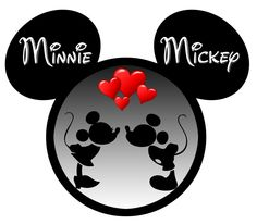 Minnie Mickey Silhouette Photo:  This Photo was uploaded by jbsrh. Find other Minnie Mickey Silhouette pictures and photos or upload your own with Photob...