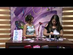 Mulher.com 08/01/2015 Mobile com letras de feltro por Tania Vietro - YouTube