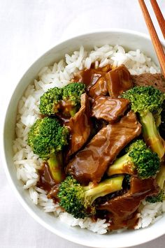 Chinese Beef and Broccoli Stir Fry - a recipe from a Chinese restaurant!