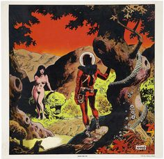 Adam & Eve, por Wally Wood