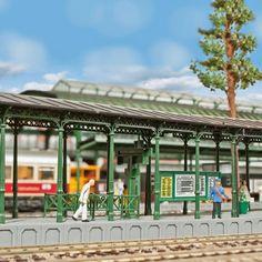 #quai de #gare couvert #HO #KIBRI A retrouver ici : http://www.latelierdutrain.com/les-quais-et-passerelles-pietons/100140-quai-de-gare-couvert-ho-1-87-kibri.html