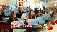 Learn to paint, prune & twist all on #HomeAndBackyard Saturday morning @ 9am on @WNEP-TV.
