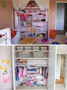 Before and after - Peter Walsh and The Living Room declutter and decorate a kids room with Temple & Webster