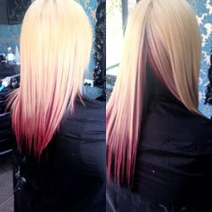 Blonde, Red, Black.