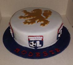Olympique Lyonnais Lyonnaise, Sorbets, Birthday Cake, Football, Club, Deco, Desserts, Food, Ice Cream Sandwiches