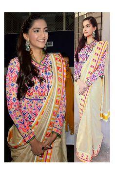 Gorgeous Sonam Bollywood Replica Saree