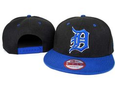 New Era MLB Detroit Tigers New era 9Fifty Black Blue Snapback Hats Caps 3457! Only $7.90USD