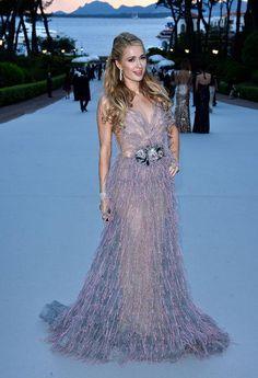 Paris Hilton at the Cannes 2015 AmFAR gala