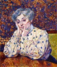 Madame Theo van Rysselberghe, 1907  Theo van Rysselberghe