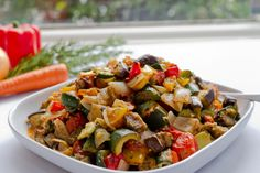 Try Roasted Ratatouille for a taste of Provence, with plenty of fiber, vitamins, phytochemicals and antioxidants. A great entree or side dish for summer.