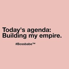 Building an empire #onamission