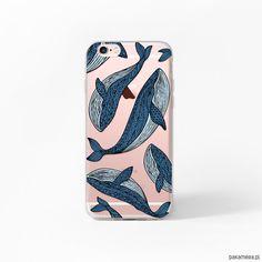 pokrowce i etui-Etui iPhone 6 6s Case Obudowa Wieloryby Whale