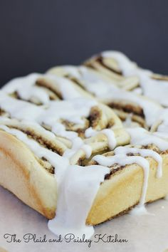 Skinny Cinnamon Rolls ~ All the flavor with out the guilt. These rolls have less sugar and fat than the regular recipes. You will never tell the difference