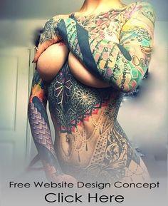 Sexy Woman Tattoo Design