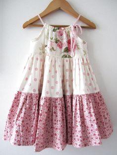 Girls Easter Dresses, Little Girl Dresses, Girls Dresses, Baby Dresses, Modest Dresses, Wedding Dresses, Girls Fashion Clothes, Kids Fashion, Girl Clothing