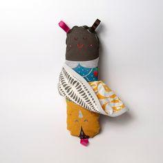 Flip Dolls by Miszkomaszko | on DesignMom.com