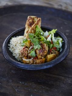 Packed full of punchy flavours, let Jamie Oliver introduce you to the ultimate chicken curry recipe, a delicious meal whatever the occasion.