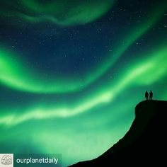 Credit to @ourplanetdaily : After a week spent in Senja and not a lot of luck with the weather at night, we ventured out on the final night with our fingers crossed and we were treated to one of the most amazing displays I have seen.  Photo and Story by © @tomarcherphoto  #OPDStories #OurPlanetDaily