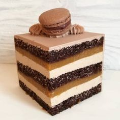 Торт •Мулатка• Frosting Recipes, Cake Recipes, Dessert Recipes, Russian Cakes, Mac And Cheese Homemade, Pudding Cake, French Pastries, Healthy Sweets, Sweet Cakes