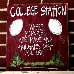 College Station Tail Gate Parties are alive and well!