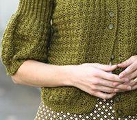 Cute (crochet) sweater from The Crochet Closet by Lisa Gentry.