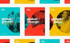 Global Fund for Children: Branding by Belen Ramos – Inspiration Grid | Design Inspiration