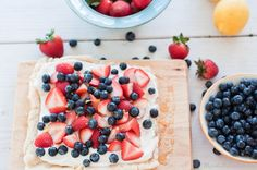 Marshalls Abroad: Happy Fourth! Summer Berry Tart Drizzled in Warm Honey