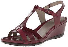 nice Ecco Footwear Womens Touch 45 T Strap Dress Sandal