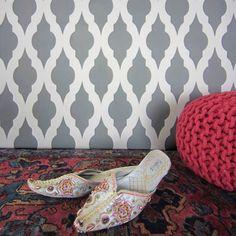 NEW! - Taj Mahal Allover Wall Stencil Pattern - Large - Beautiful stencils for DIY home decor Cutting Edge stencils,http://www.amazon.com/dp/B00I0D7KF2/ref=cm_sw_r_pi_dp_RK4htb08MMS2X9F9