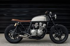 Honda CB750 Brat Style by Redeemed Cycles #motorcycles #bratstyle #motos | caferacerpasion.com