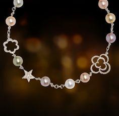 Chanel 18k gold, pearls & diamonds